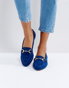 Read more about Office fast lane suede loafer shoes - navy