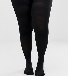 Read more about Asos curve skin firming support 50 denier tights - black
