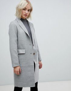 Read more about New look grey tailored coat - mid grey
