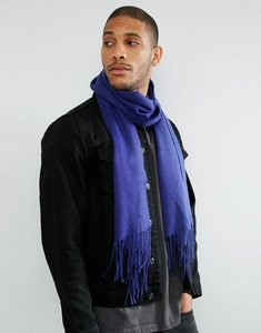 Read more about Asos woven scarf in cobalt blue - cobalt blue
