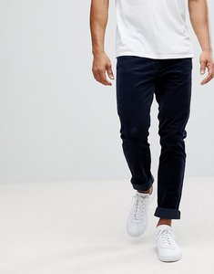 Read more about United colors of benetton slim fit chinos in cord - 06u navy