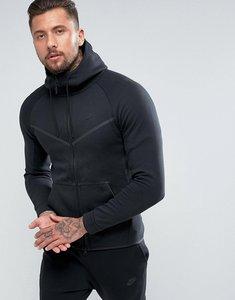 Read more about Nike tech fleece hoodie in black 805144-010 - black