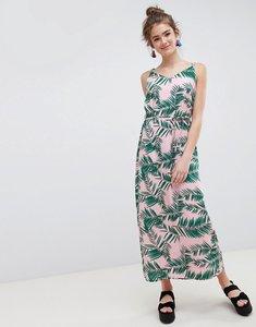 Read more about Blend she adali palmleaf print slip dress - printed