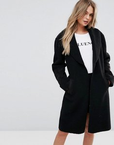 Read more about New look faux shearling teddy coat - black