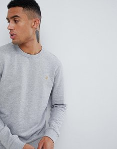 Read more about Farah tim crew neck sweat in light grey - grey