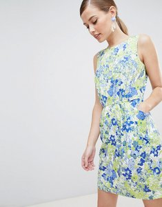 Read more about Closet london floral pencil dress - multi