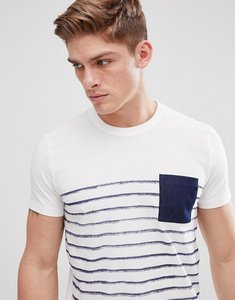 Read more about Esprit t-shirt with stripe and contrast pocket - 110