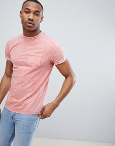 Read more about Threadbare burnout t-shirt - coral