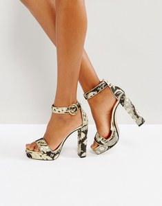 Read more about Ted baker jewll ornate paisley platform sandals - multi