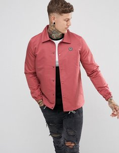 Read more about Hype coach jacket in dusty pink - pink