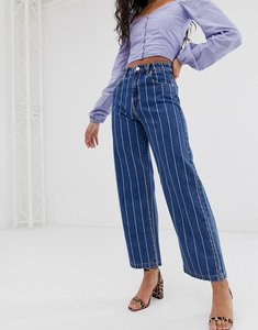 Read more about Abrand street a-line striped jean