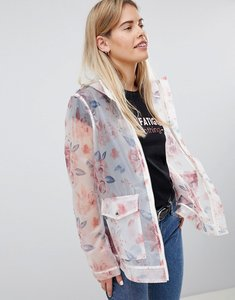 Read more about Asos design floral rainwear jacket - multi