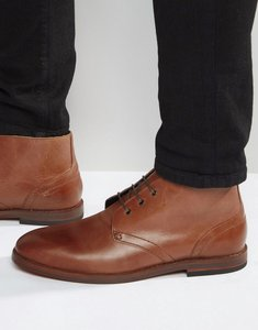 Read more about Hudson london houghton leather chukka boots - brown