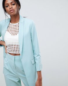 Read more about Asos design mix match tailored blazer - soft blue