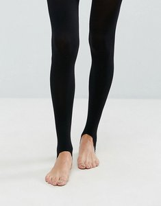 Read more about Asos 60 denier stirrup tights - black