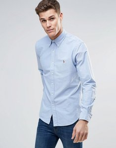 Read more about Polo ralph lauren oxford shirt in blue custom regular fit - blue