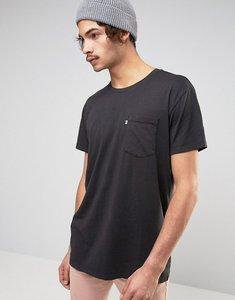 Read more about Levis line 8 long line pocket t-shirt - black