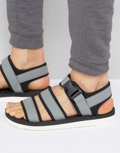 Read more about Aldo odouart multi strap sandals - grey