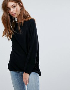 Read more about Jdy ribbed knitted jumper - black
