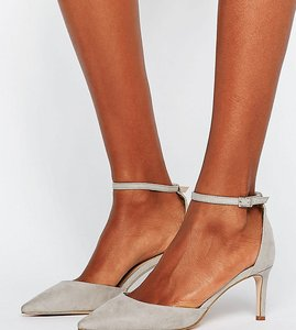 Read more about Asos scotty pointed heels - grey