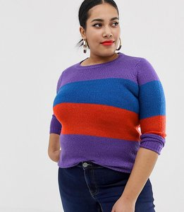 Read more about Junarose colour block knitted jumper