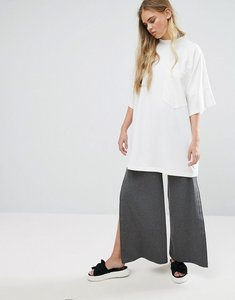 Read more about House of sunny wide leg popper pant - grey