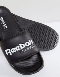 Read more about Reebok classic sliders in black bs7414 - black
