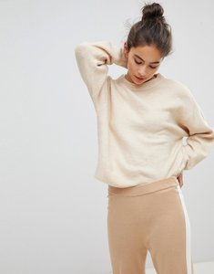 Read more about Micha lounge boxy crop jumper - cream