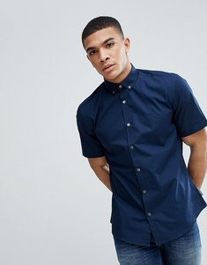 Read more about French connection poplin short sleeve shirt - marine