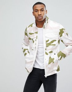 Read more about G-star deline camo hooded jacket - beige