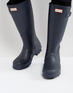Read more about Hunter original tall wellies in blue - blue