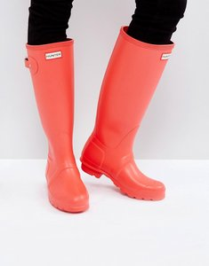 Read more about Hunter original wellington boot - bright coral