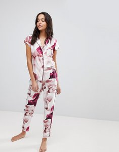 Read more about B by ted baker porcelain rose printed pyjama pant - rose pink