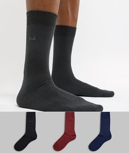 Read more about Pringle endrick socks 3 pack - multi