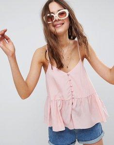 Read more about Asos design button smock cami - blush