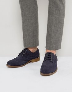 Read more about Kg by kurt geiger gloucester brogues navy suede - blue