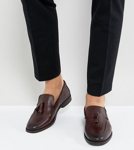Read more about Kg by kurt geiger kesgrave tassel loafers - red