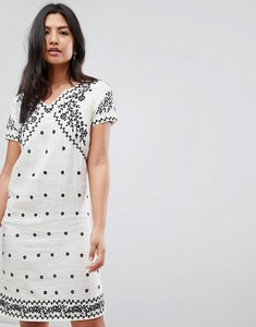 Read more about Deby debo billy embroidered shift dress - ecru