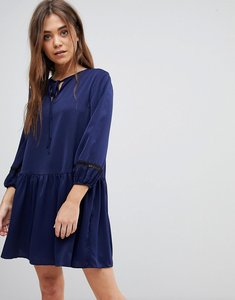 Read more about After market smock dress - navy black