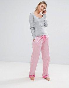 Read more about Original penguin woven gingham pyjama set - pink