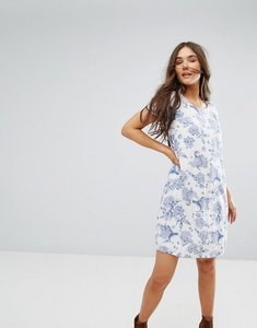 Read more about Traffic people floral shift dress - white