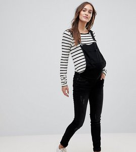 Read more about Mamalicious dungarees - black