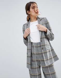 Read more about Asos tailored bold spring check blazer - check