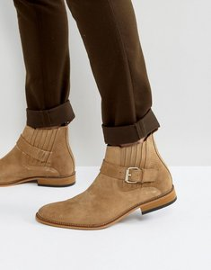 Read more about House of hounds adrian suede buckle boots in tan - tan