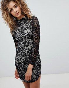 85333eedd Caris Black Long Sleeve Lace Bodycon Dress - Photo Dress Wallpaper ...