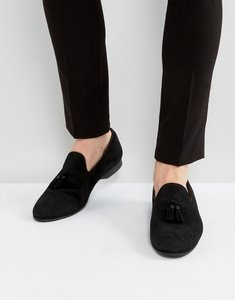 Read more about House of hounds alfred suede loafers in black - black