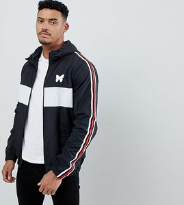 Read more about Good for nothing windbreaker in black with side stripe exclusive to asos - black