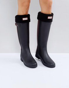 Read more about Hunter original black tall boot socks - bk1 - black 1