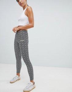 Read more about Adidas originals printed leggings - white