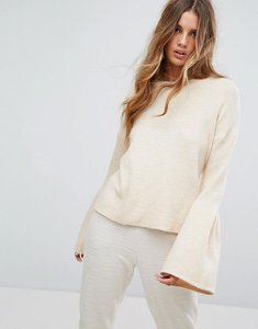 Read more about Micha lounge wide sleeve jumper - cream